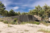 German fortifications — Stock Photo