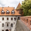 Sights of Poland. Bytow Old Town with Gothic castle. - Stock Photo