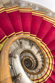 Stairwell in the Polish palace. Royal castle in Warsaw. — Stock Photo