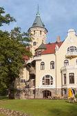 Old luxury Polish palace. — Stock Photo