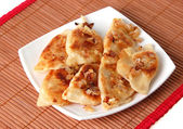Dumplings - pierogi - Polish cuisine — Stock Photo