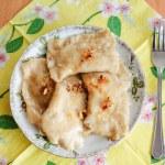 ������, ������: Dumplings pierogi Polish cuisine