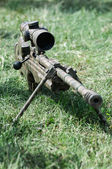 Sniper rifle — Stock Photo