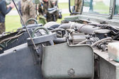 Humvee engine — Stock Photo