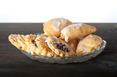 Biscuits with jam — Stock Photo