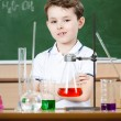 Little chemist — Stock Photo