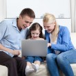 Problem-free family laugh — Stock Photo #12572487