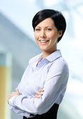 Portrait of a handsome successful business woman — Stock Photo