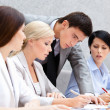 Business discussing — Stock Photo