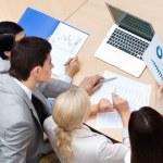 säker affär vid mötet — Stockfoto