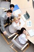 Biznes na posiedzeniu zespołu — Zdjęcie stockowe