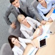 Successful business team at the conference — Stock Photo