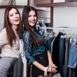 Two friends are in the store — Stock Photo #13693778
