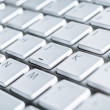 Close up of keyboard of a laptop — Stock Photo #13696836