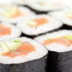 Rolled maki sushi — Stock Photo #13865986