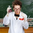 Mad scientist — Stock Photo