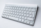Contemporary keyboard of pc — Stock Photo