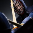 ������, ������: Close up shot of competition of two kendo fighters