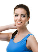Portrait d'une jeune femme sportive — Photo