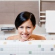 Girl takes a bath — Stock Photo #21259443