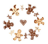 Set of cookies Gingerbread Man — Stock Photo