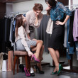 Putting on new shoes — Stock Photo #21643511