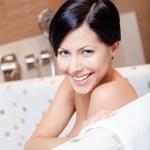 Beautiful girl takes a bath — Stock Photo #22718313