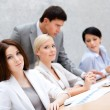 Successful business team at the meeting - Stock Photo