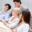 Business stuff at the conference — Stock Photo #30913543