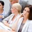 Business team at the conference — Stock Photo #31272609