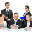 Group of business team working — Stok fotoğraf