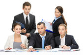 Group of people working — Stock Photo