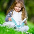 Girl reads book — Stock Photo #32892133