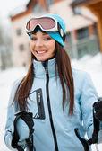 Alpen alpineskiester — Stockfoto