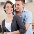 Couple hugs one another — Stockfoto #33332183