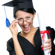 Stock Photo: Graduating student