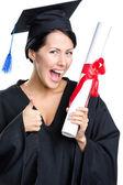 Graduating student — Stock Photo
