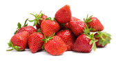 Close up view of heap of strawberry — Stock Photo