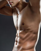 Sexy male torso — Stock Photo