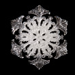 Snowflake shape — Stock Photo
