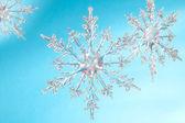 雪花形状 — 图库照片