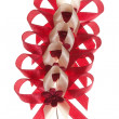 Celebration bows — Stock Photo