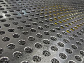 Abstract silver industrial surface, technology details. — Stock Photo