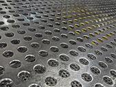 Abstrato prata industrial, tecnologia detalhes superficiais. — Foto Stock