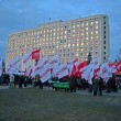 KIEV, UKRAINE - NOV 12. Meeting near Central Election Commission. - Stok fotoğraf