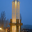 Holodomor (79th anniversary) marks in Kiev, Ukraine on November 24, 2012. — Stock Photo