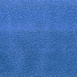 Abstract blue material texture closeup, background. — Stock Photo