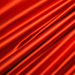 Red satin textile, modern interior. — Stock Photo