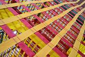 Correias textiled abstratas, industriais. — Fotografia Stock