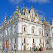 Kiev Pechersk Lavra, blue azure sky, Kiev. — Stock Photo